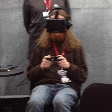 EVE Evolved Handson with EVE's virtual reality demo