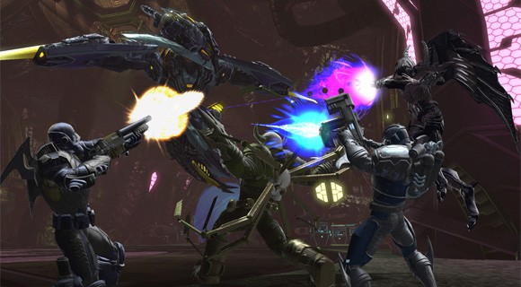 DCUO's Origins Crisis screenshot