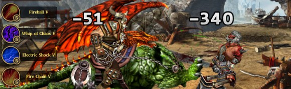 Dragon Eternity iPad version screenshot