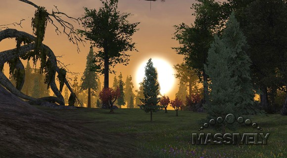 Darkfall Unholy Wars sunset