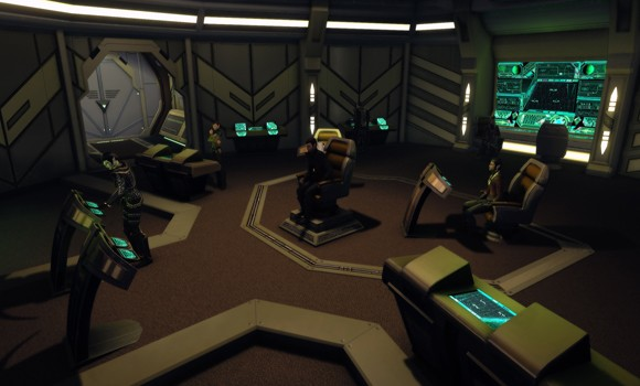 STO Romulan bridge interior