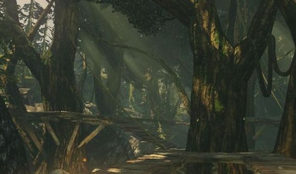 Screenshot -- Forge (Forest Ambush map)