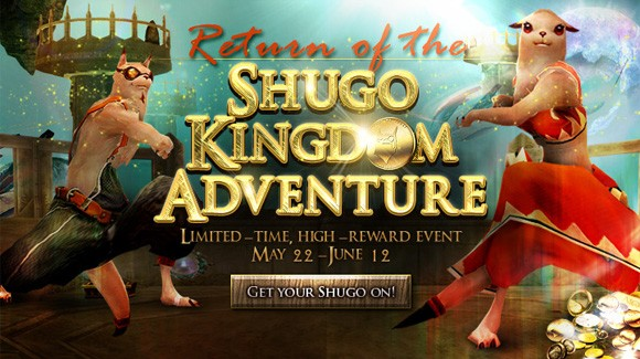 Shugo Kingdom Adventures return!