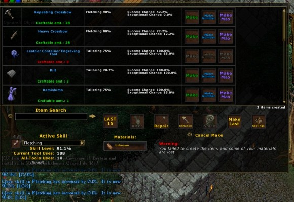 Ultima Online (Pinco's UI, custom-modded for EC)