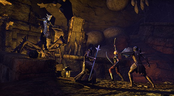 Elder Scrolls Online: Group Fight