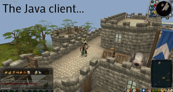 RuneScape java client screenshot