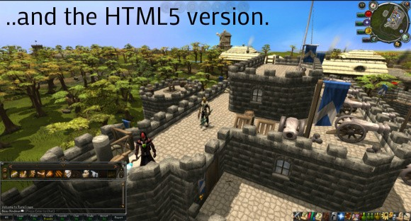 RuneScape HTML5 screenshot