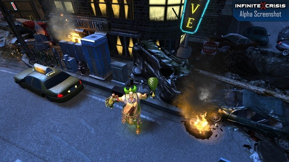 Hands On with Infinite Crisis's new map