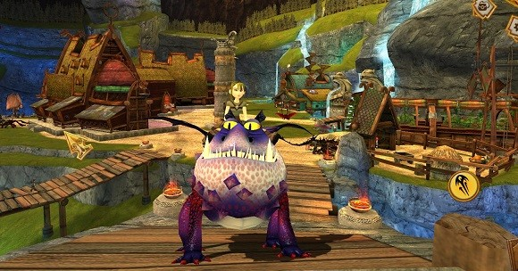 MMO Family  First impressions of Dreamworks School of Dragons