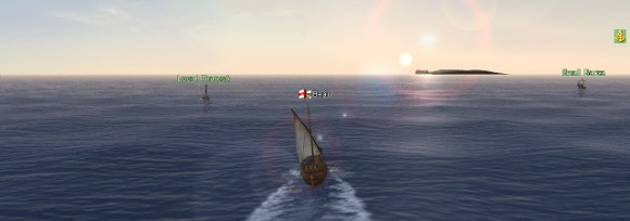 Uncharted Waters Online screenshot