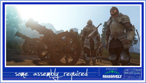 Black Desert - Cannons and soldiers