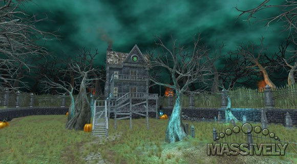 EQII's new Fright manor home