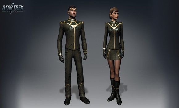 STO Romulan Dress Uni