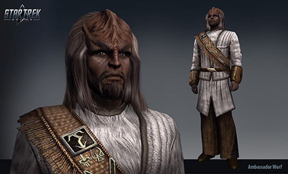STO Ambassador Worf Sphere of Influence