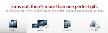 'Tis the season: Apple launches holiday gift guide, offers free shipping