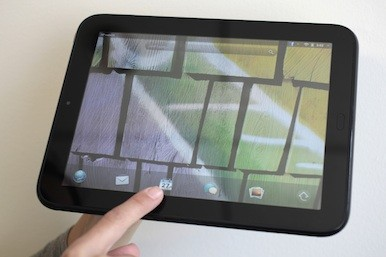 Picture of an HP tablet