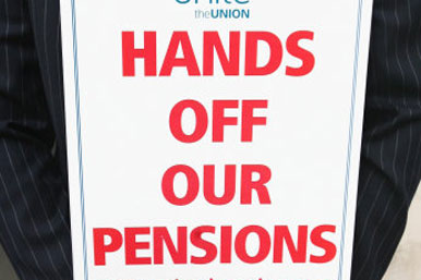 Hands off our pensions