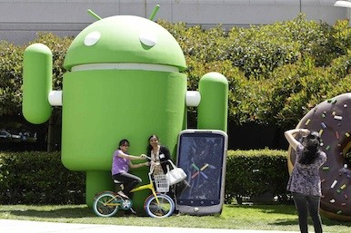 Picture of an Android model
