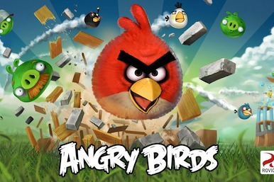 Picture of the Angry Birds game