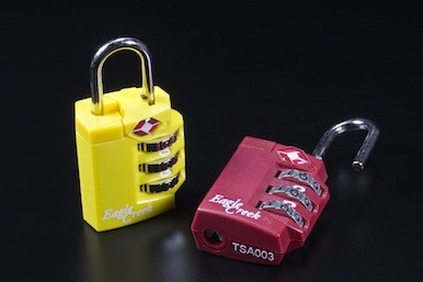 Picture of padlocks
