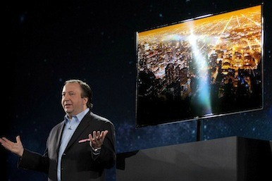 Picture of Samsung TVs