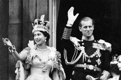 Queen and Prince Philip from 1953