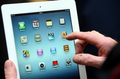 Picture of the new iPad