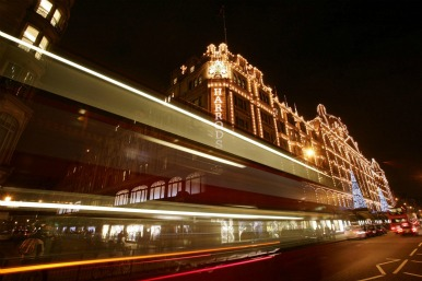 Harrods and traffic