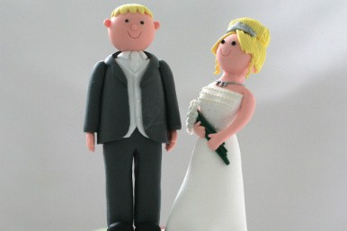 Marriage cake decorations