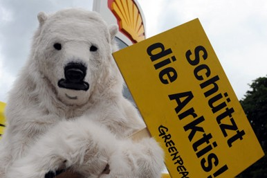 Shell Greenpeace fuel protests