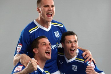 Cardiff City players