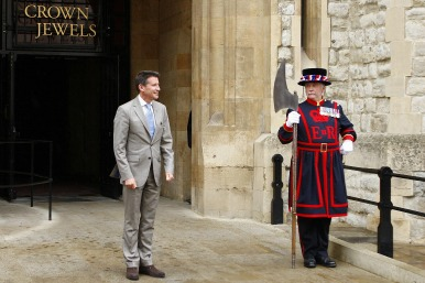 Lord Coe at the Tower of London
