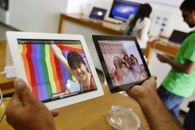 New iPad vs iPad 2