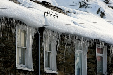 House icicles