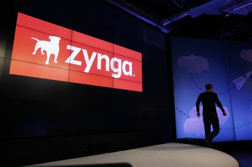 Zynga logo and CEO