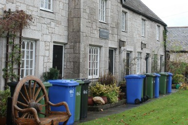 Cottages with bin eyesore