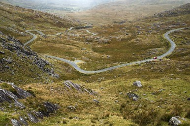 road linking County Kerry and County Cork