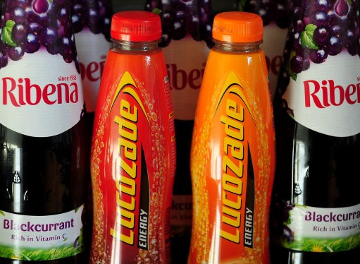 Ribena and Lucozade