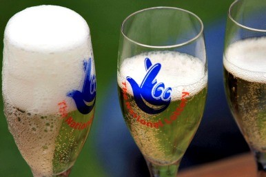 Lottery champagne