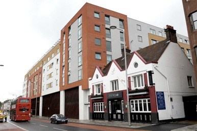 shared ownership building