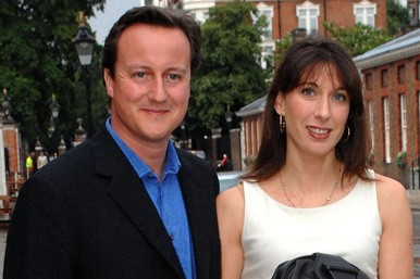 David and Sam Cameron