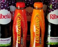 Lucozade and Ribena