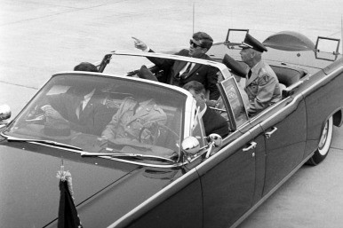 The car in which JFK was killed