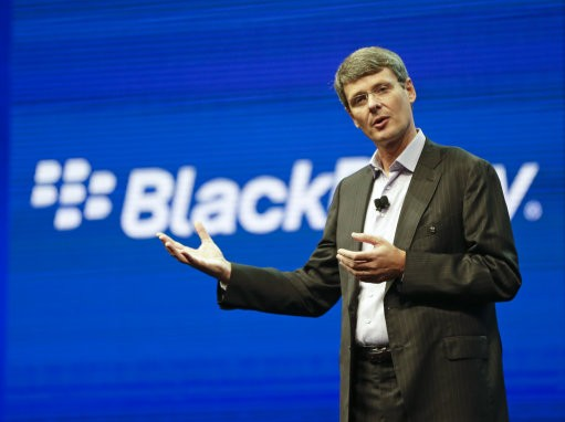BlackBerry abandons sale plan and sacks CEO