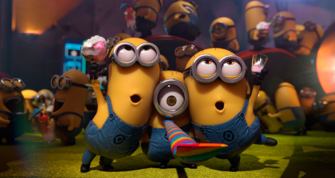box office despicable me 2