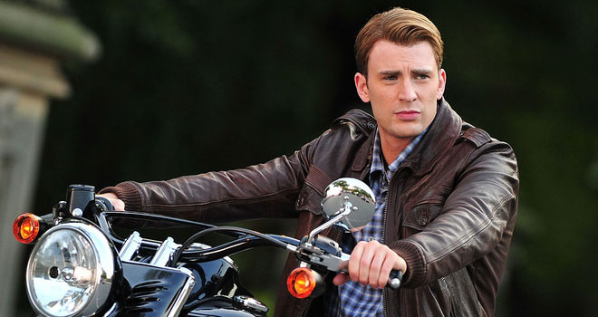 Chris Evans Films 'The Avengers'