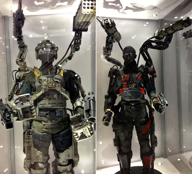 'Edge of Tomorrow' Suits