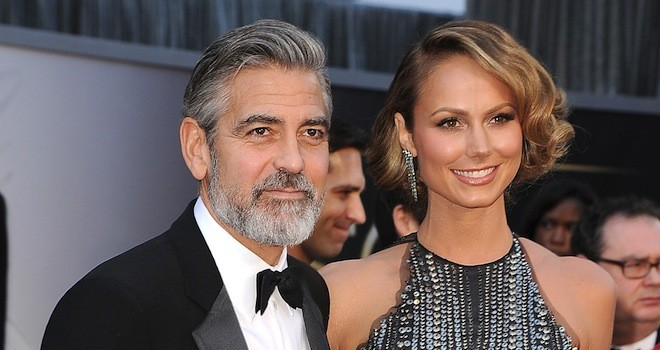 george clooney stacy keibler