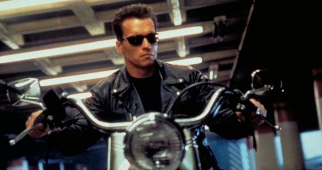 Arnold Schwarzenegger in 'Terminator 2: Judgment Day'
