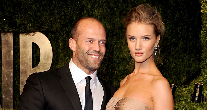 Stupendous Is Jason Statham Getting Ready To Propose To Rosie Huntington Hairstyles For Women Draintrainus